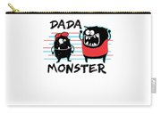 Dada Monster Cute Monster Cartoon For Kids And Dad Light Carry-all Pouch
