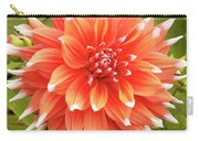 Dahlia Bloom Flower Carry-all Pouch