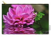 Dahlia On Water Carry-all Pouch