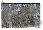 Dakota West In Winter Carry-all Pouch