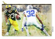 Dallas Cowboys Against Green Bay Packers. Carry-all Pouch