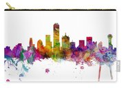Dallas Texas Skyline Panoramic Carry-all Pouch