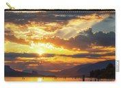 Dalton Point Sunrise Carry-all Pouch