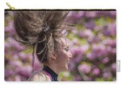 Dancing And Cherry Blossoms Carry-all Pouch