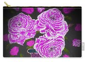 Dark And Delicious Roses In Pink Lilac Carry-all Pouch