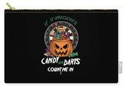 Darts Dart Pumpkin Jack O Lantern Halloween Carry-all Pouch
