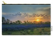 Daybreak In The Land Of Bluebonnets Carry-all Pouch