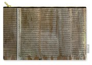 Dead Sea Scroll Carry-all Pouch