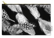 Decorated In Black And White Carry-all Pouch