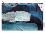 Deep Blue #3 Carry-all Pouch by Maria Langgle