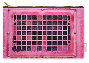 Deep Pink Train Engine Vent Square Format Carry-all Pouch