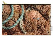Deep Sea Fishing Nets And Buoys Carry-all Pouch