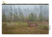 Deer Mist Fog Landscape Carry-all Pouch by Patti Deters