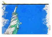 Defending Liberty Watercolor By Ahmet Asar Carry-all Pouch
