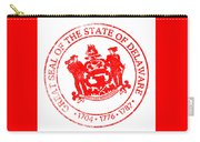 Delaware Seal Stamp Carry-all Pouch