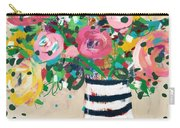 Delightful Bouquet 5- Art By Linda Woods Carry-all Pouch