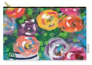 Delightful Bouquet 6- Art By Linda Woods Carry-all Pouch