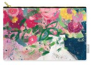 Delightful Bouquet- Art By Linda Woods Carry-all Pouch