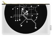 Denver Black Subway Map Carry-all Pouch
