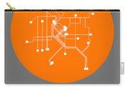Denver Orange Subway Map Carry-all Pouch