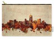 Denver Skyline Sepia Carry-all Pouch