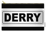 Derry City Nameplate Carry-all Pouch