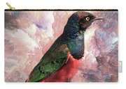 Desaturated Starling Carry-all Pouch