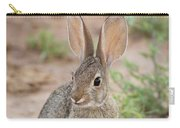 Desert Cottontail Rabbit Carry-all Pouch