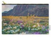 Desert Sand Verbena, Desert Sunflower Carry-all Pouch
