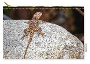 Desert Spiny Lizard H1809 Carry-all Pouch by Mark Myhaver
