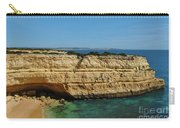 Deserta Beach Scene In Algarve Carry-all Pouch