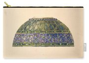 Design For Floral Lamp  Louis Comfort Tiffany American, New York 1848-1933 New York Carry-all Pouch