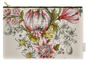 Design For Sprays Of Flowers Carry-all Pouch