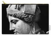 Detail Of The Face Of Athena Farnese Carry-all Pouch