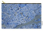 Detroit Map Retro 5 Carry-all Pouch