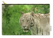 Digital Watercolor Painting Of Beautiful Portrait Image Of Hybri Carry-all Pouch