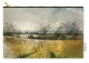 Digital Watercolor Painting Of Stunning Countryside Landscape Wh Carry-all Pouch