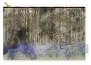 Digital Watercolor Painting Of Stunning Landscape Of Bluebell Fo Carry-all Pouch