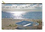Dinghy On A Sunny Beach Carry-all Pouch