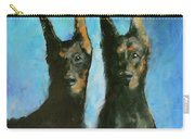 Doberman Family Carry-all Pouch