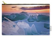 Door County, Wisconsin Sunset Carry-all Pouch by Sam Antonio Photography