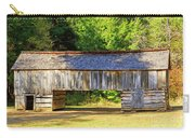 Double Crib Barn In Cades Cove In Smoky Mountains National Park Carry-all Pouch