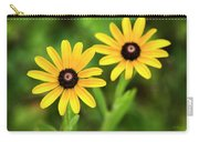 Double Daisies Carry-all Pouch