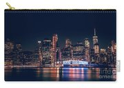 Downtown At Night Carry-all Pouch by Dheeraj Mutha