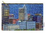 Downtown Raleigh - City At Night Carry-all Pouch