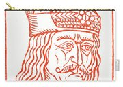 Dracula Or Vlad Tepes, 1491 Woodcut Carry-all Pouch