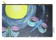 Dragonflies And Moonlight Carry-all Pouch