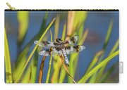 Dragonfly Perched By Pond Carry-all Pouch