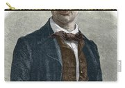 Drawing Of Charles Baudelaire Carry-all Pouch