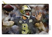 Drew Brees Carry-all Pouch
